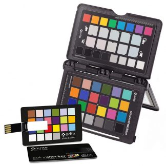Calibración de cámaras ColorChecker passport photo usb
