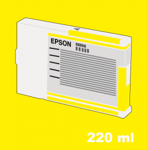 tinta Epson amarillo 220 ml