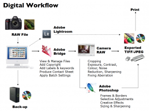 workflow fotografía digital