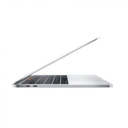 MacBook Pro Touch Bar Plata open