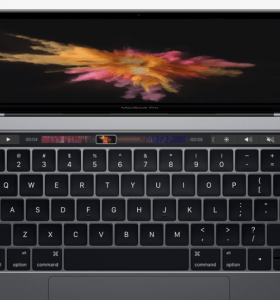MacBook Pro Touch Bar zoom