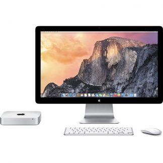 mac mini doble pantalla teclado